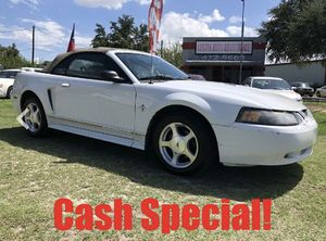 2001 FORD MUSTANG CONVERTIBLE DELUXE | 125K MILES | DRIVES GREAT | WELL KEPT | CASH SPECIAL! for Sale in Austin, TX