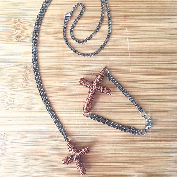 Unique Unisex Handmade Cross Jewelry