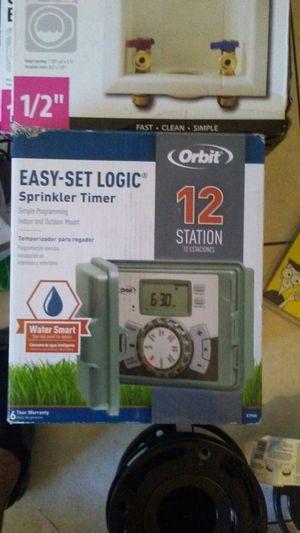 Easy set logic sprinkler timer for Sale in Phoenix, AZ