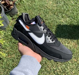 Nike Air Max 90 Off-White Black 🎱 Size 11 VNDS for Sale in Compton, CA