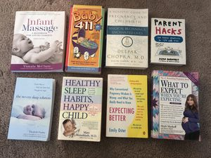 Set of Eight Pregnancy/Baby Books for Sale in Everett, WA