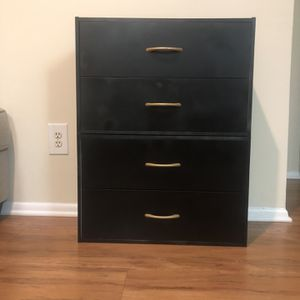 Black Drawer Set for Sale in Woodbridge, VA