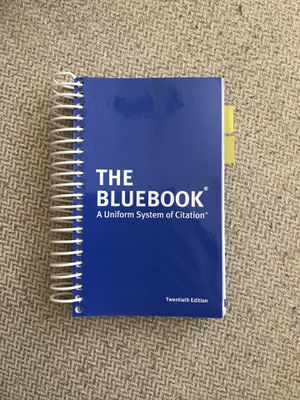 The Bluebook: A Uniform System of Citation for Sale in Arlington, TX