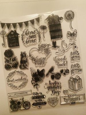 15pc Variety Stamps/Sentiments (Read) for Sale in Elizabethton, TN
