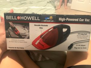 Bell howell high powered car vacuum for Sale in Manassas, VA