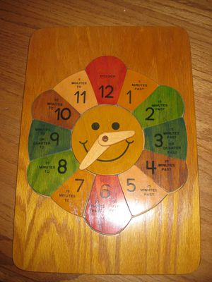 Easy Pieces Wooden Clock Puzzle for Sale in Traverse City, MI