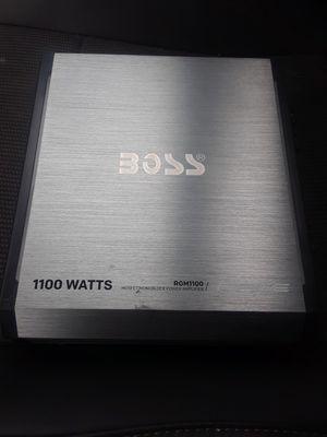 Boss 1100watt amp for Sale in SeaTac, WA