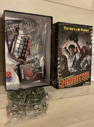 New Halloween Zombie Card Game for Sale in San Diego, CA