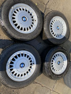 "15"" 4 used wheels & tires 205/65R15 BFGOODRICH for Sale in Gilroy, CA"