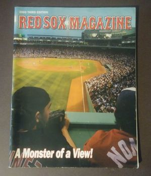 2003 Boston Red Sox Magazine Stadium View Baseball Sports Collectible Memorabilia MLB for Sale in Salem, OH