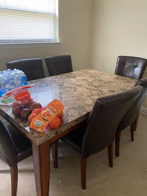 Dinette set and wine rack for Sale in Greenville, NC