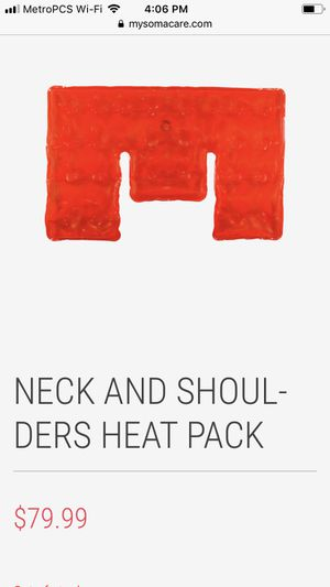 Soma care heat therapy for Sale in Dallas, TX