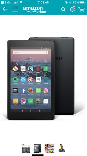 Amazon fire tablet for Sale in Cleveland, OH