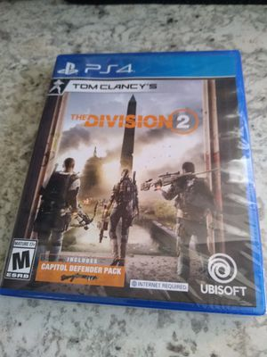 The division 2 Ps4 for Sale in Spring, TX