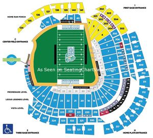 4 Miami Hurricanes vs FIU Row 1 Tickets 11/23 for Sale in Miramar, FL