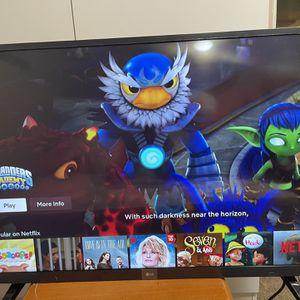 """LG 4k UHD Smart TV 43"""" for Sale in Westland, MI"""