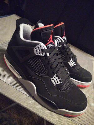 Jordan 4 bred for Sale in Modesto, CA