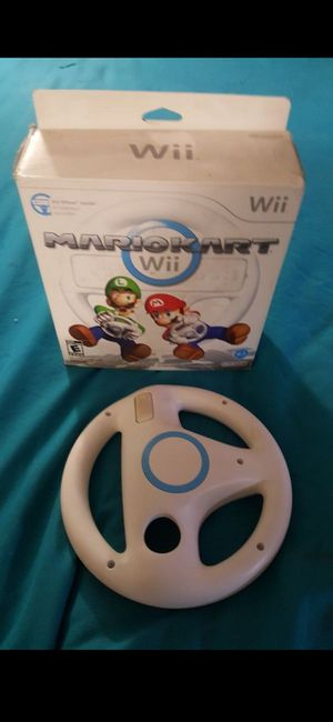 Wii wheel for Sale in San Bernardino, CA