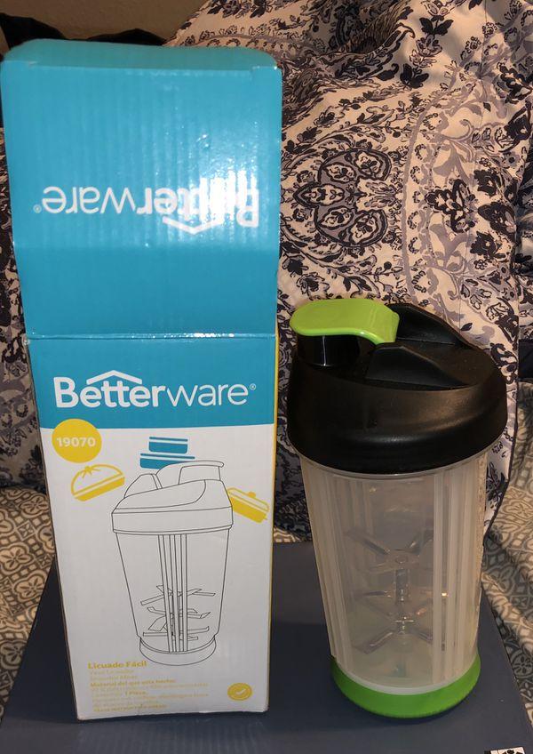 Shake bottle/manual blender