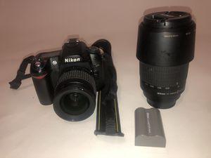 Nikon d80 w/ 2 lenses for Sale in Atlanta, GA