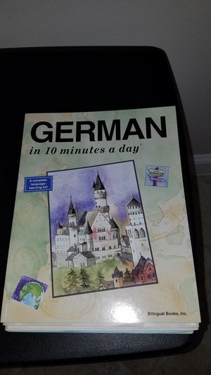 German in 10 Minutes a Day for Sale in Umatilla, FL