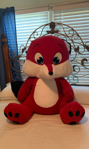 Stuffed Animal Fox for Sale in Fayetteville, GA