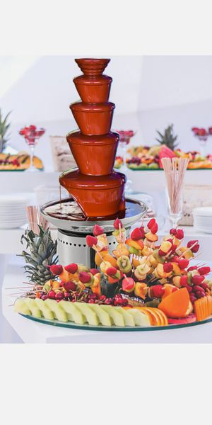 Commercial chocolate fountain for Sale in Lutz, FL