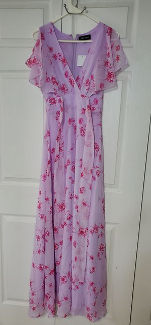 Girls long dress in pink XS for Sale in Peoria, AZ