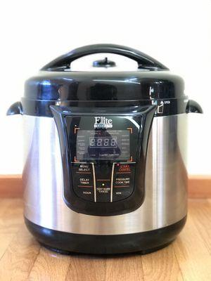 Elite Platinum 8 QT Pressure Cooker for Sale in Seattle, WA