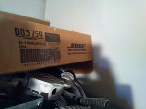 Bose speaker stand black for Sale in Phoenix, AZ