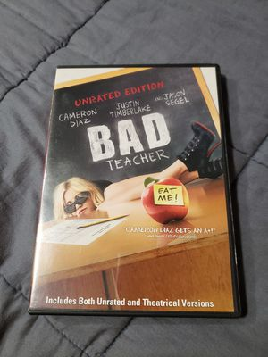 Bad Teacher DVD (unrated version) for Sale in Gresham, OR