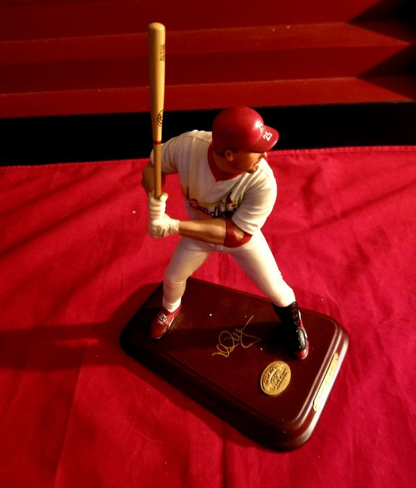 Mark Mcgwire Figurine Collectable Statue St Louis Cardinals MLB