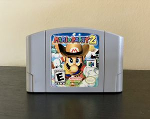 N64 Mario Party 2 for Sale in Lombard, IL