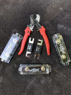 Sky High Audio Cable Cutter Fuse Holder ANL Fuses for Sale in Fresno, CA