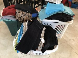 Women's tops pants small medium brand-name express oh navy black and white and others excellent condition size small to medium for Sale in Point Pleasant, NJ