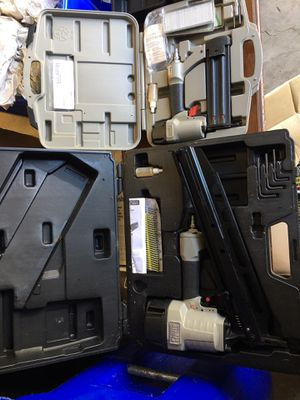 Porter Cable nailers, impact wrench, compressor and nails for Sale in Montgomery Village, MD