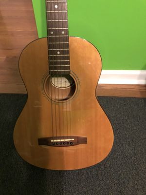 Fender Squier sp-1 acoustic guitar/ w traveling gig bag for Sale in Burbank, IL