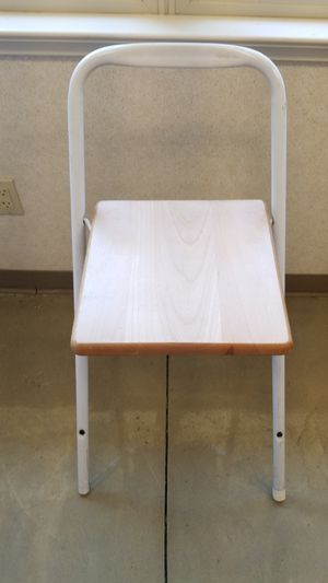 Folding high stool chair for sale for Sale in Fowler, CA