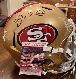 Joe Montona Autographed Full Size Replica Helmet for Sale in Ridgefield, CT