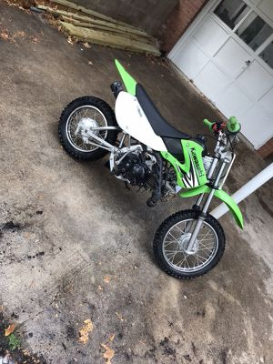 2008 klx110 great condition runs good no problems with it start with first or second kick....will expect trades for a yz 85\125 or rm85 for Sale in Durham, NC