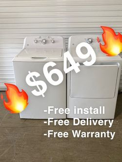 Washer & Dryer For Sale // lavadora y secadora a la venta for Sale in Arlington,  TX