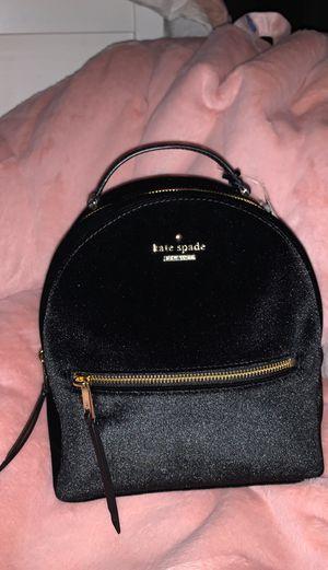 Kate Spade velvet backpack for Sale in Spring, TX