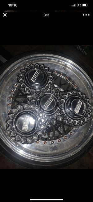 "17"" bbs set of wheels 5x114.3 for Sale in Miami Gardens, FL"