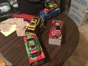 4 1/24 scale NASCAR Jeremy Mayfield cars. for Sale in El Dorado, AR