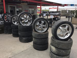 Various aftermarket rims at IPULLUPULL auto parts for Sale in Fresno, CA