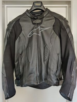 Alpinestars Missile Air leather motorcycle jacket size 44US/54Euro for Sale in Garden Grove, CA