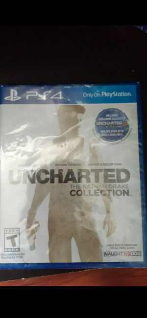 Uncharted nathan drake collection ps4 game for Sale in Hayward, CA