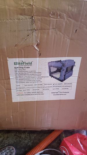 Elite soft dog crate for Sale in Fresno, CA