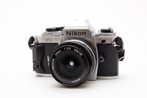 Nikon FG 35mm Film Camera + Nikkor 20mm Lens! for Sale in Chula Vista, CA