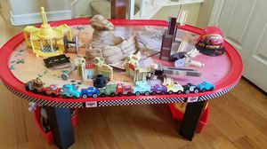 Cars radiator springs table-track set for Sale in Chula Vista, CA